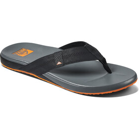 Reef Cushion Phantom Sandals Men, negro/naranja